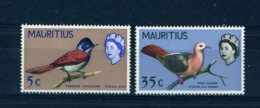 MAURITIUS - 1967 Birds Sideways Watermark Set Unmounted/Never Hinged Mint - Mauritius (...-1967)
