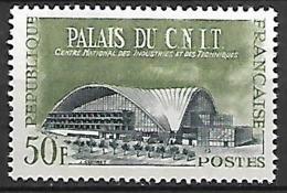 FRANCE   -   1959 .  Y&T N° 1206 ** .    Palais Du CNIT - Ongebruikt