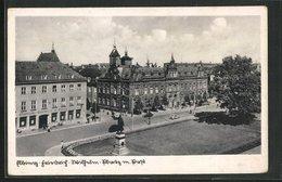 AK Elbing / Elblag, Kaiser Wilhelm-Platz Mit Post - Westpreussen