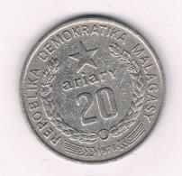 20 ARIARY  1978 MADAGASKAR /8225/ - Madagaskar
