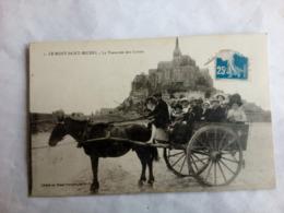 Le Mont St Michel - La Traversée Des Grèves - Basse-Normandie