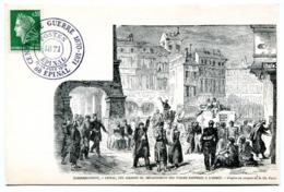 Bureau Temporaire Epinal - Centenaire Guerre 1870 - 13 & 14 Juin 1970 - X 1363 - Marcofilie (Brieven)