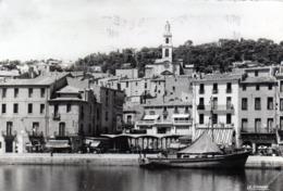 CPSM -  SETE  (34)  L' Eglise Saint Louis -  Le Marché Aux Poissons Et La Maison De Paul Valéry - Sete (Cette)