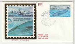 FDC - MONACO - 1983 - FDC