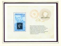 MAURITIUS - 1979 Rowland Hill Miniature Sheet Unmounted/Never Hinged Mint - Mauritius (1968-...)