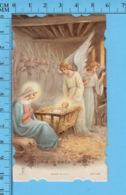 Die Cut , Image Pieuse - Anges, Nativité, Chromo , Gloria In Excelsis Deo - - Devotion Images
