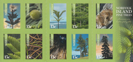 2015 Norfolk Island Pine Trees Complete Booklet  MNH - Bäume