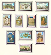 MAURITIUS - 1978 Definitives Set Unmounted/Never Hinged Mint - Mauritius (1968-...)
