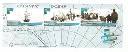 2015 Ross Dependency Imperial Trans-Antarctic Expedition Complete Set Of 2 Sheets MNH @ FACE - Nuovi