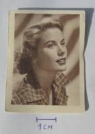 Grace Kelly Actress, Stickers SLIČICA ZA ALBUM VAŠI LJUBIMCI, Yugoslav Vintage Collectiable Gum Card Issued 1960's - TV & Kino