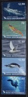 2013 Ross Dependency Food Web Whales Birds Seals Complete Set Of Of 5 MNH - Nuovi