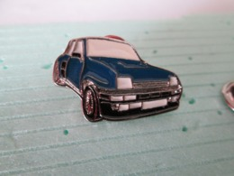 PIN'S    RENAULT  5  TURBO    Email A Froid - Renault
