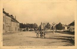 MARNE  VERTUS  Place Mont Chenil - Vertus