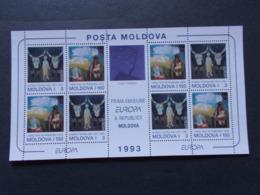 MOLDAVIE - Blocs Feuillets  N° 5  Europa Cept  Année  1993 Neufs XX   ( 1 ) - Moldavie