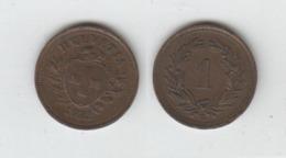 Suisse 1 Rappen  1932 ; Switzerland - Schweiz