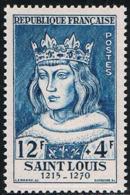 FRANCE : N° 989 ** (Célébrités : Louis IX, Dit Saint-Louis) - PRIX : 7,50 € Soit 30 % De La Cote - - Francia