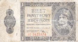 Poland 1 Zloty 1938 - Polonia