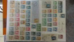 Collection De Classiques Et Courriers. Très Sympa !!! - Briefmarken