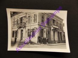 Photo Originale Amateur Gasthof Zur Blume Kehl A Rh Militaire Et Jeunes Femmes - Places
