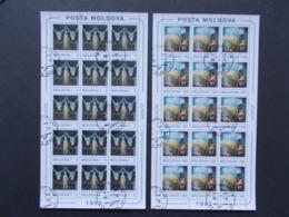 MOLDAVIE -  Feuillets De 10  Des   N° 83/84  Europa Cept  Année  1993  Oblitérés 1er Jour   ( 9 ) - Moldavie