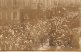 Photo Carte Postale Laval Mayenne Fête Dieu Juin 1911 - Laval