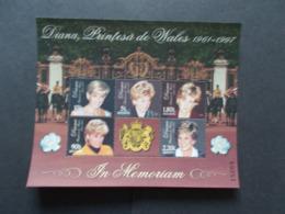 MOLDAVIE -  Feuillets  Des N° 240/244 DIANA Princesses 1961/1997   Année  1998  NEUFS XX   ( 8 ) - Moldavie