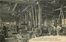 SEINE ET MARNE   LA FERTE SOUS JOUARRE  Société Generale Meuliere  Atelier De Mecanique - La Ferte Sous Jouarre