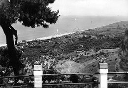 Cartolina Silvi Alto Panorama Di Silvi Marina 1973 VG - Teramo
