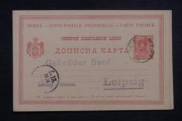 SERBIE - Entier Postal De Belgrade Pour L 'Allemagne - 45521 - Serbie