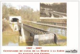 """Centenaire Du Canal De La Marne à La Saône """" En Passant Par CONDES """" Prix Fixe - Ohne Zuordnung"""