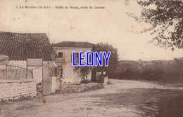 CPA De LA BENÂTE   (17) -  SORTIE Du BOURG - ROUTE De COURANT - édit BEJOU - PUZENAT Machines Agricoles - P - Francia
