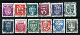 Francia Nº 553/64 Usado Cat.51€ - Used Stamps