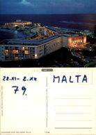 DRAGONARA HOTEL AND CASINO,MALTA POSTCARD - Malte