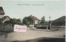 SANCEY Le GRAND  Fontaine St Roch - Autres Communes