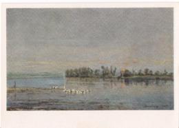 Charles Francois Daubigny - Morning - 1964 /P301/ - Malerei & Gemälde