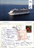 COSTA FASCINOSA POSTCARD - Sailing Vessels