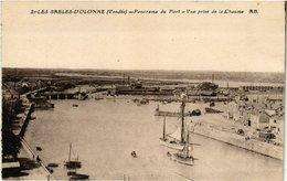 CPA Les SABLES-d'OLONNE - Panorama Du Port - Vue Prise De La CHAUME(167291) - Sables D'Olonne