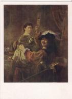 Rembrandt Harmenszoon Van Rijn - Self Portrait With Saskia On Her Lap - 1962 /P301/ - Peintures & Tableaux