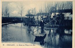 CPA CHALLANS - Le Marais Au Village De La Rive (167499) - Challans