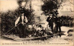 CPA Au Pays De CHALLANS - La Yole - Les Canaux De Dessechement (297834) - Challans