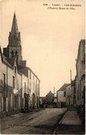 CPA Vendée - Les ESSARTS - (l'Entrée) - Route De L'Oie (297873) - Les Essarts