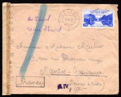 STO En Norvège - Censure Militaire - OVRE-ARDAL Du 05/04/44 - Norwegen