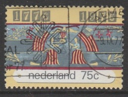 Netherlands 1976 The 200th Anniversary Of The USA 75 C Multicoloured SW 1076 O Used - Period 1949-1980 (Juliana)