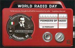 GRENADE Bloc Pionniers/Radio (1321) 2013 Neuf ** MNH - Grenade (1974-...)