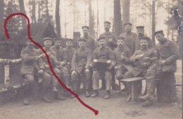 ACCORDEON Akkordeon Musik Am Front  Carte Photo Allemande - Guerre 1914-18
