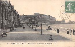 Mers Les Bains (80) - L'Esplanade Et Les Falaises Du Tréport - Non Classificati