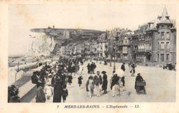 Mers Les Bains (80) - L'Esplanade - Non Classificati