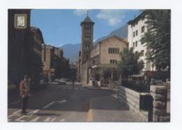ANDORRE/ANDORRA --LES ESCALDES - AVENUE CARLO MAGNO     -RECTO/VERSO - B76 - Andorra
