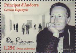 Ref. 578266 * NEW *  - ANDORRA. Spanish Adm. . 2017. ANDORRAN GIFTS - RIBERAYGUA PILLAR. DONES ANDORRANES - PILAR RIBE - Andorre Espagnol