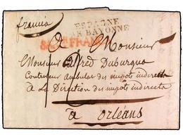 SPAIN: PREPHILATELIC MARKS  DP09 MONTAÑAS DE SANTANDER - ...-1850 Prephilately